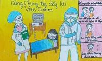 Les jeunes de l'arrondissement de Ba Dinh en lutte contre le Covid-19