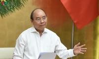 Hô Chi Minh-ville: visioconférence avec le Premier ministre Nguyên Xuân Phuc