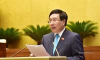 Projet de loi sur les conventions internationales en débat
