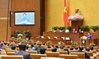 Clôture de la 9e session parlementaire