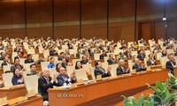 L'Assemblée nationale adopte plusieurs résolution importantes