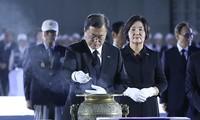 70e anniversaire du début de la guerre de Corée : Moon Jae-in salue les sacrifices des anciens combattants