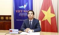 Débat sur la pandémie de coronavirus et la sécurité: le Vietnam soutient les efforts de l'ONU