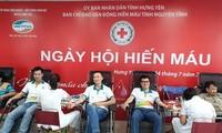 Don de sang : près de 10.000 unités de sang collectées