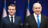 Israël: Macron demande à Netanyahu de renoncer à tout projet d'annexion de Territoires palestiniens