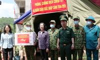 La cheffe de la commission centrale de sensibilisation rend visite aux gardes-frontières de Lang Son