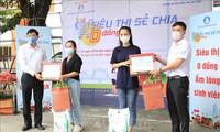 Danang : des « supermarchés gratuits » pour les étudiants impactés par le covid-19