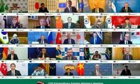 COVID-19: les ministres du G20 favorable à une gestion transfrontalière coordonnée