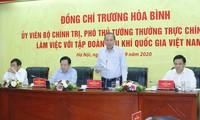 Truong Hoa Binh travaille avec le groupe gazo-pétrolier du Vietnam