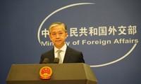 La Chine exhorte les États-Unis à cesser immédiatement les échanges officiels avec Taiwan