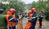 Centrale hydroélectrique de Rao Trang : les corps de 13 membres de l'équipe de sauvetage retrouvés