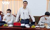 Le ministère de la Santé contrôle la lutte anti Covid-19 à Cân Tho