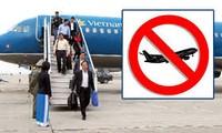 Suspension de tous les vols à destination ou en provenance de Quang Ninh