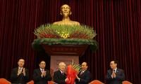 Нгуен Фу Чонг был переизбран генеральным секретарём ЦК КПВ 13-го созыва