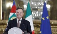 En Italie, Mario Draghi prend la tête d'un gouvernement élargi