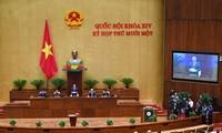 Communiqué de la 11e session de l'Assemblée nationale, 14e législature