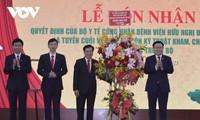 Le président de l'Assemblée nationale à Nghê An