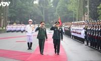 Le ministre chinois de la Défense en visite officielle au Vietnam