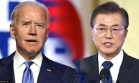 Joe Biden va recevoir le président sud-coréen Moon Jae-in à Washington