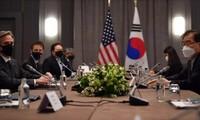 A Londres, Chung Eui-yong et Antony Blinken échangent sur la politique nord-coréenne