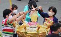 Lancement d'une semaine de «Bain du Bouddha en ligne»