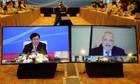 Réunion virtuelle entre Pham Binh Minh et la communauté des entreprises américaines