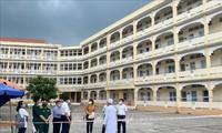 Covid-19: Dô Xuân Tuyên inspecte la prévention à Vinh Long