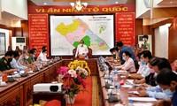 Truong Hoa Binh inspecte la prévention anti-Covid-19 à Cân Tho