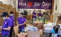Covid-19: les habitants du Centre solidaires des Saïgonnais