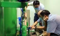 Covid-19: mise au point d'un dispositif ambulant de génération d'oxygène et de gaz comprimé au service des patients