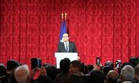 French President hosts Asian New Year celebration