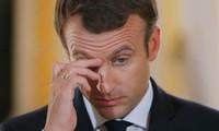 Emmanuel Macron's popularity slumps