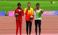 Quach Thi Lan wins gold medal in Asian athletics