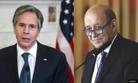 US, France seek to restore mutual trust