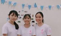 Trio : Ha Thi Phuong Loan- Luong Thi Minh Chau-Nguyen Thi Nga