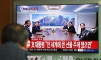 Sommet intercoréen: Kim Jong-un et Moon Jae-in ont parlé de dénucléarisation et de paix