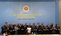 21st ASEAN Regional Forum releases Chairman's statement