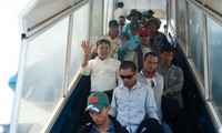 Most of the Vietnamese workers in Libya have returned home