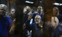 Egypt convicts 15 Muslim Brotherhood leaders