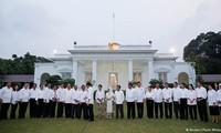 Indonesia's President Joko Widodo announces new cabinet