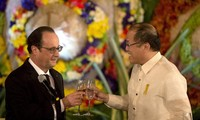 French, Philippines launch global call to fight climate change