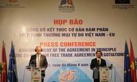 Vietnam, EU reach agreement on FTA