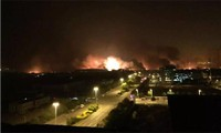 China mobilizes forces for explosion relief in Tianjin