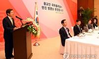 South Korean Prime Minister Hwang Kyo-ahn visist China