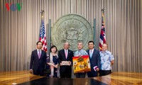 Vietnamese Ambassador visits Hawaii