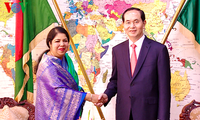 President meets Bangladeshi leaders