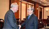 Duke of York welcomed in Ho Chi Minh City