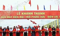 Major solar power plant inaugurated in central Vietnam