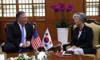 South Korea, US top diplomats hold  talks over Japan's export curbs