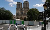 Notre-Dame Cathedral restoration work resumed in Paris